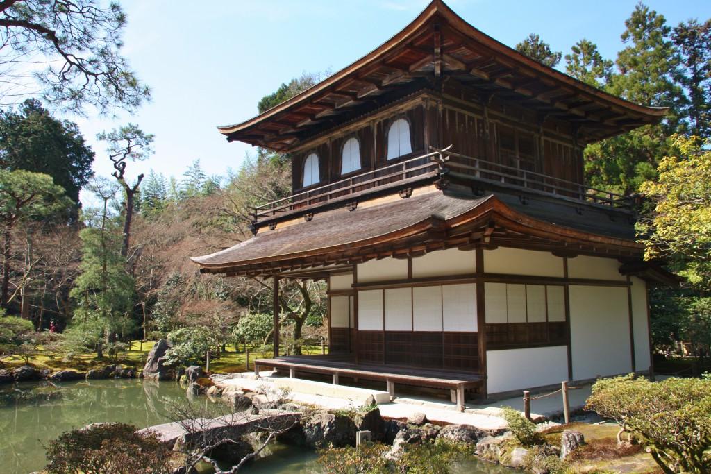 Et av veldig mange templer i Kyoto.