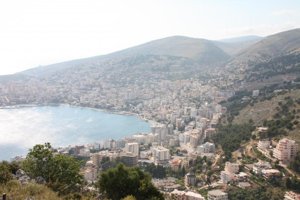 Utsikt over Sarandë.