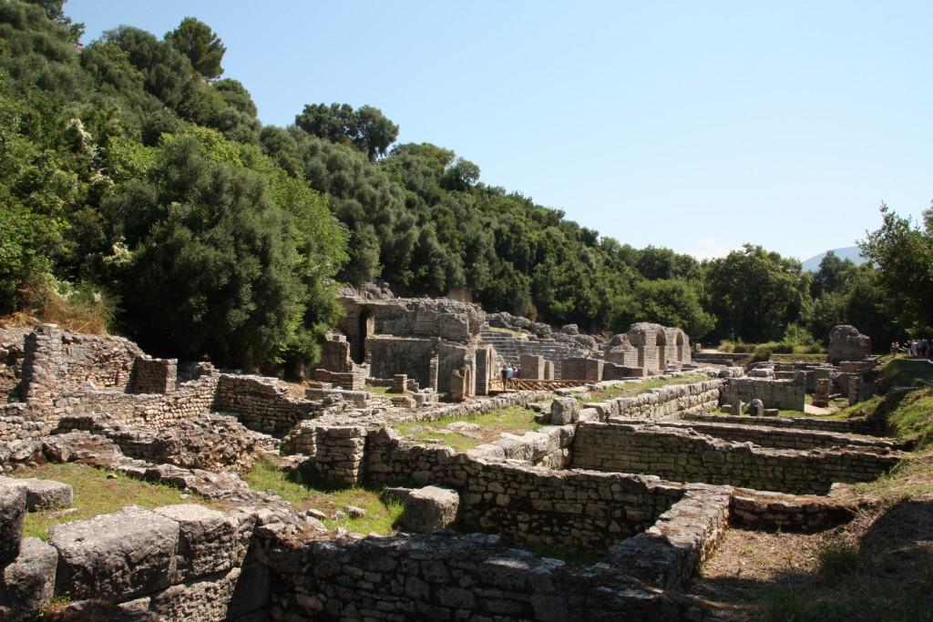 Det største ruinområdet i Butrint.
