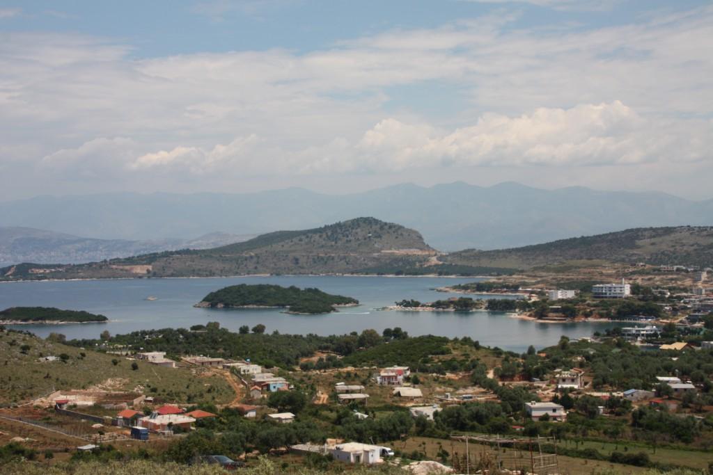 Utsikt over Ksamil.