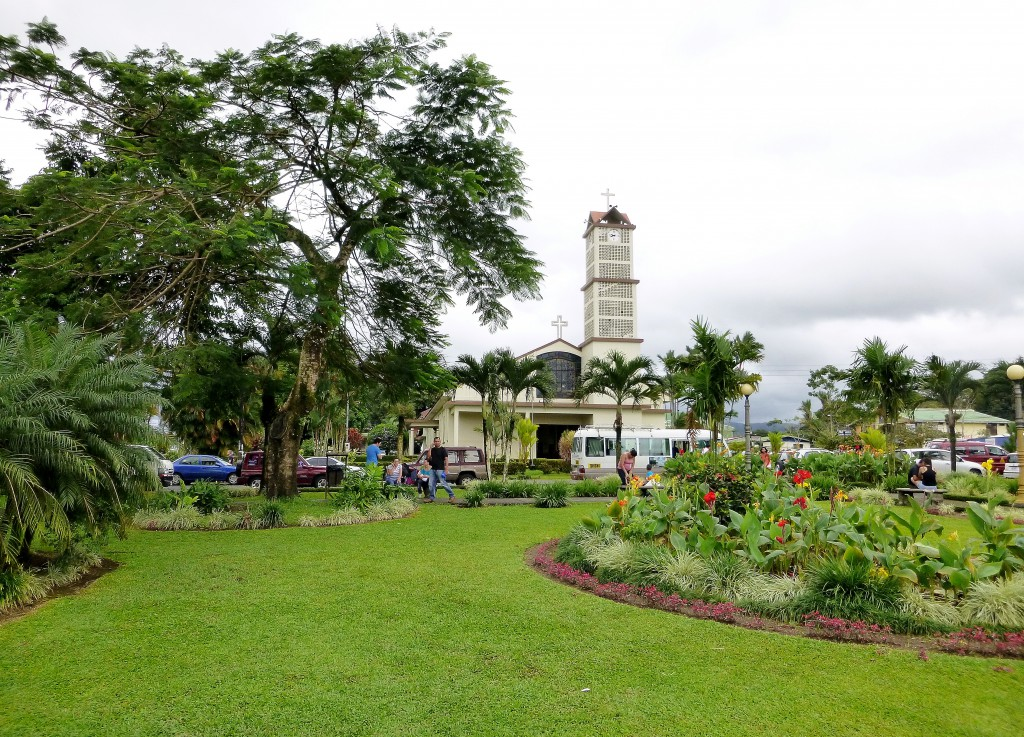 Parken i La Fortuna.