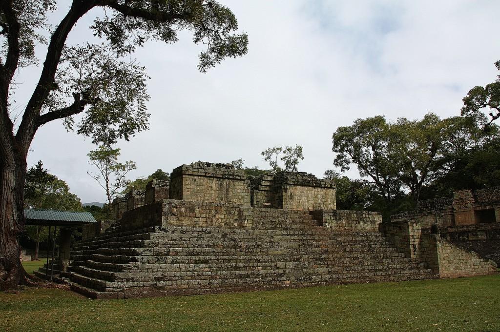 Mayaruiner i Copán.