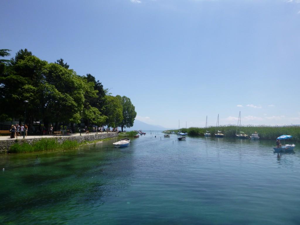 Ved Lake Ohrid.