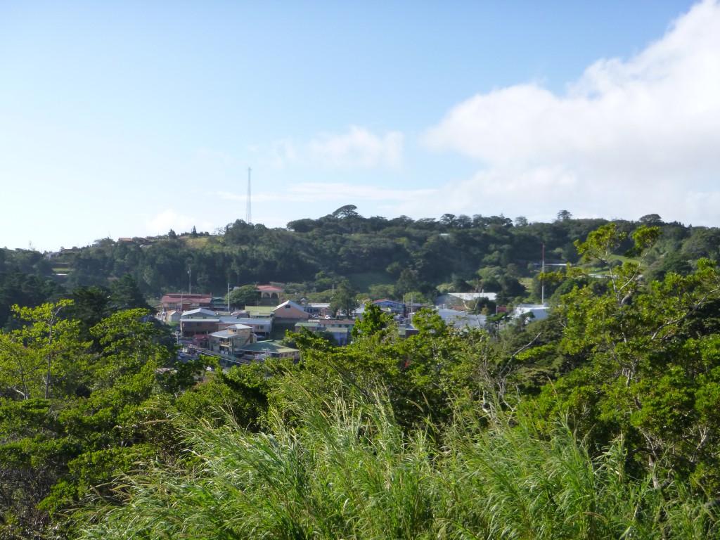 Utsikt over Monteverde.