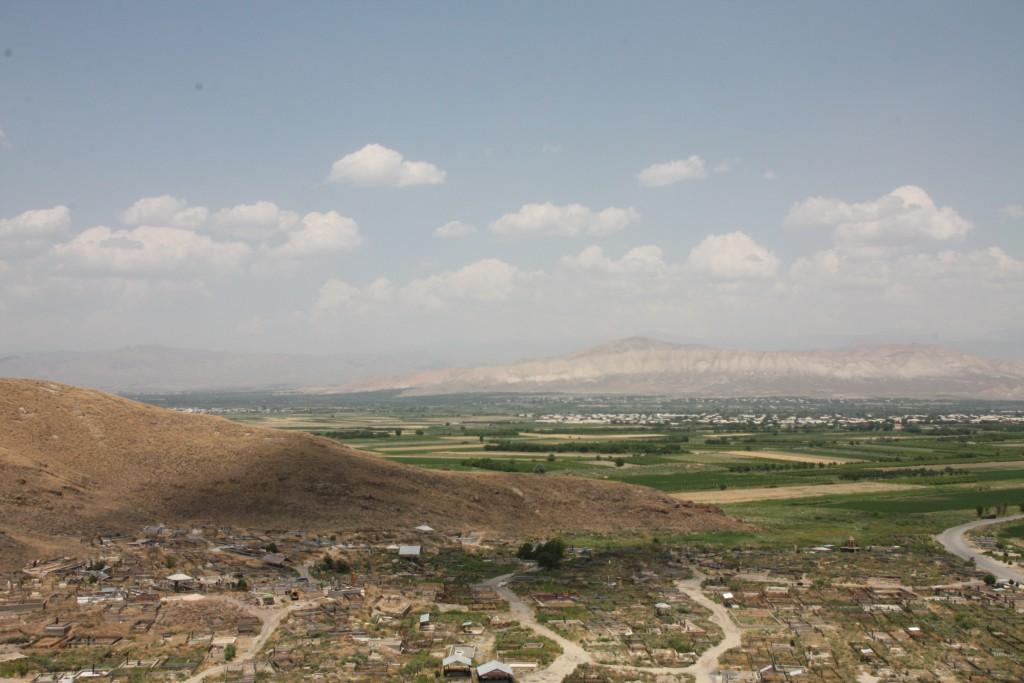Utsikt fra Khor Virap