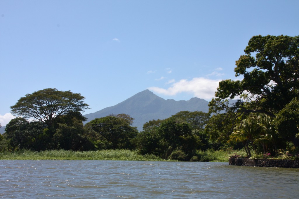 Nicaragua - Båttur ved Granada