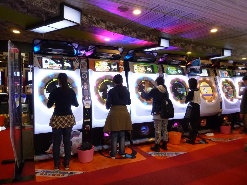 Spillehall i Tokyo.