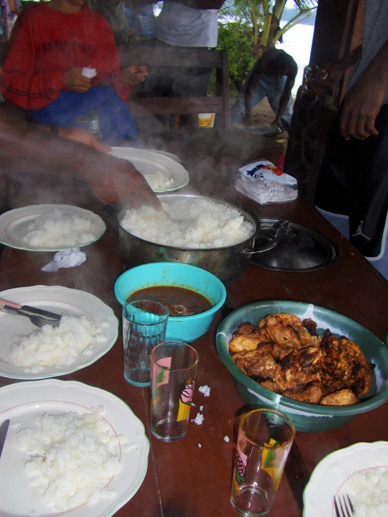 Ser kanskje ikke særlig spennende ut, men sausen til kokken Isa var verdens beste!