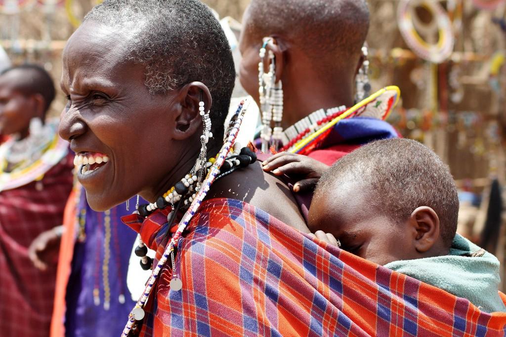 Tanzania - masailandsby