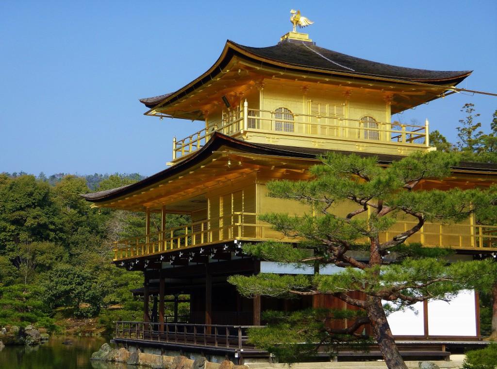 Japan - Kyoto - Gullpaviljongen