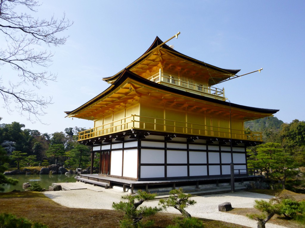 Japan - Kyoto - Gullpaviljongen