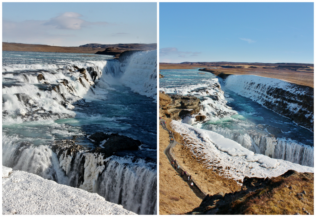 Collage Gullfoss