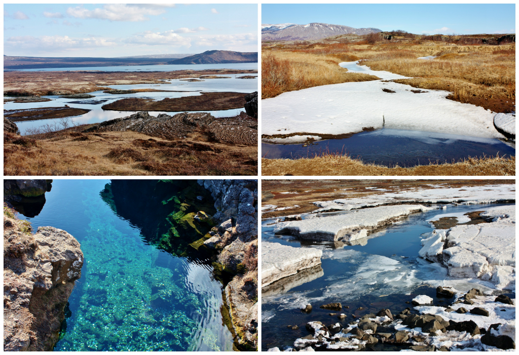 Collage Thingvellir 1