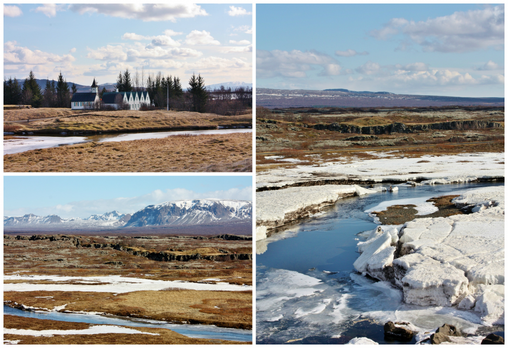 Collage Thingvellir 2