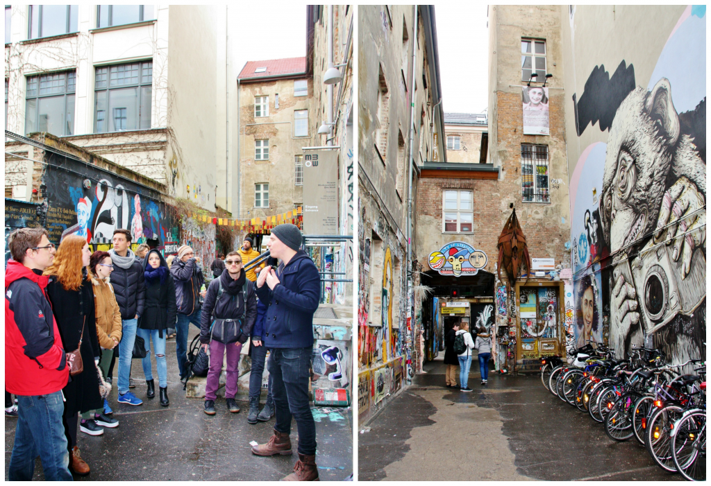 Collage Alternative Tours Berlin 2