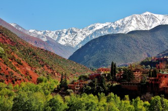 Marokko - Atlasfjellene