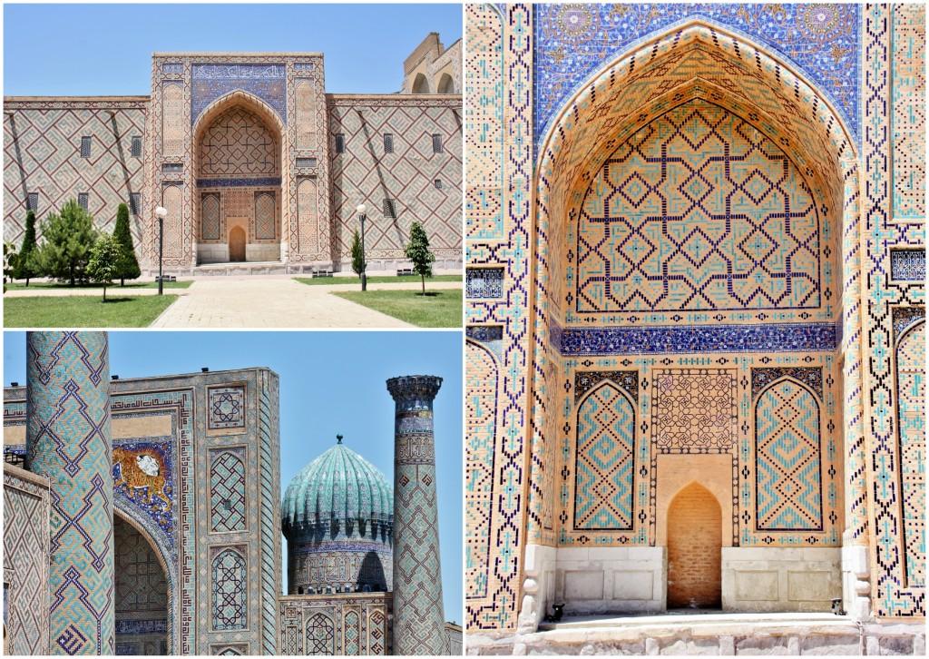 Collage Registan - Samarkand - Usbekistan - 1