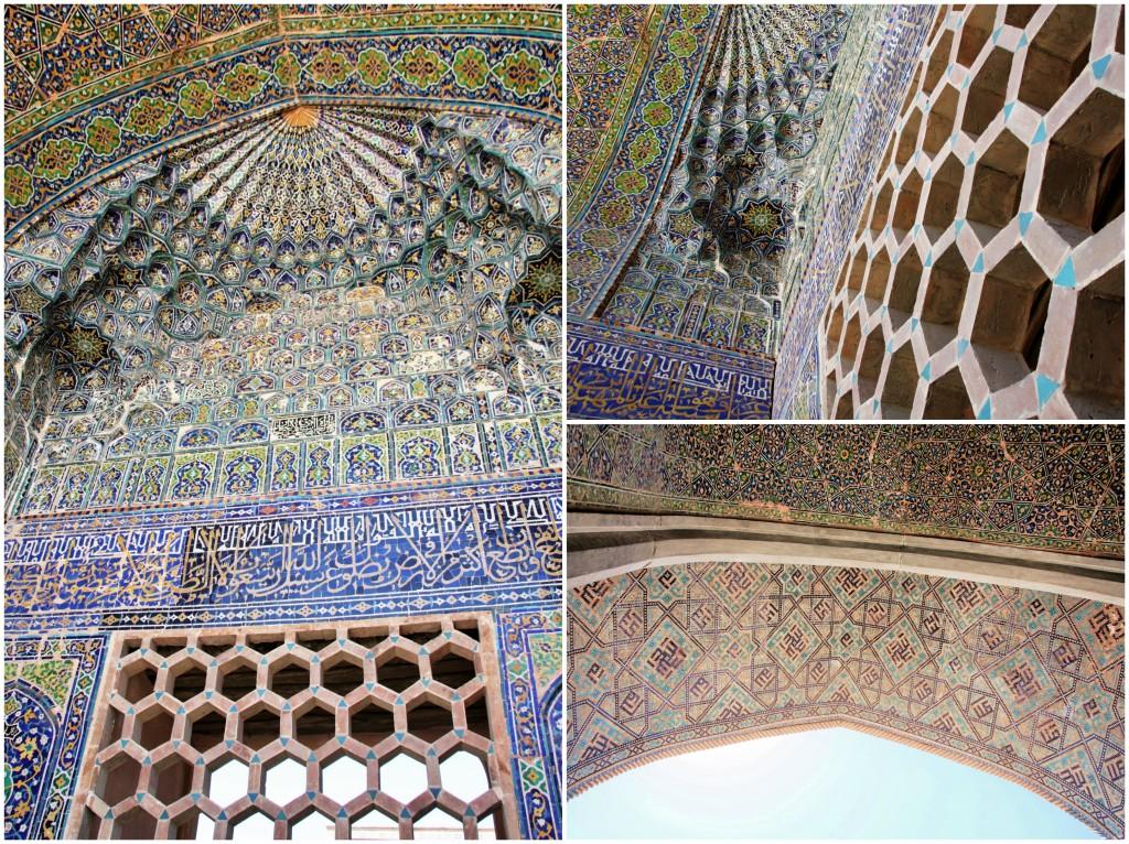 Collage Registan - Samarkand - Usbekistan - 11