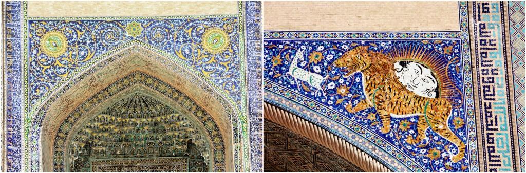 Collage Registan - Samarkand - Usbekistan - 12