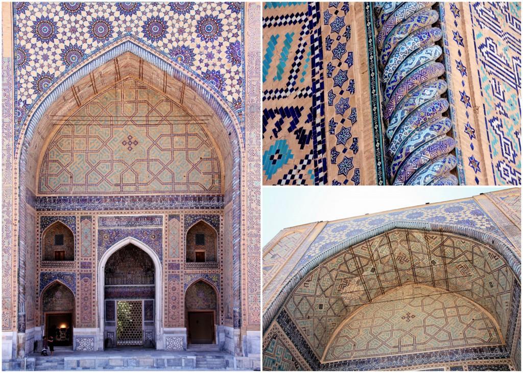 Collage Registan - Samarkand - Usbekistan - 2