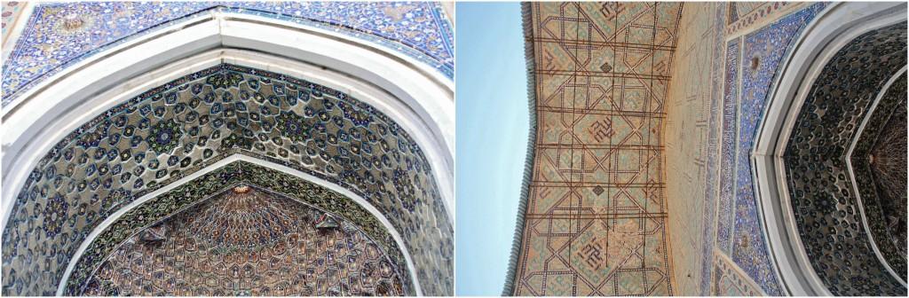 Collage Registan - Samarkand - Usbekistan - 3