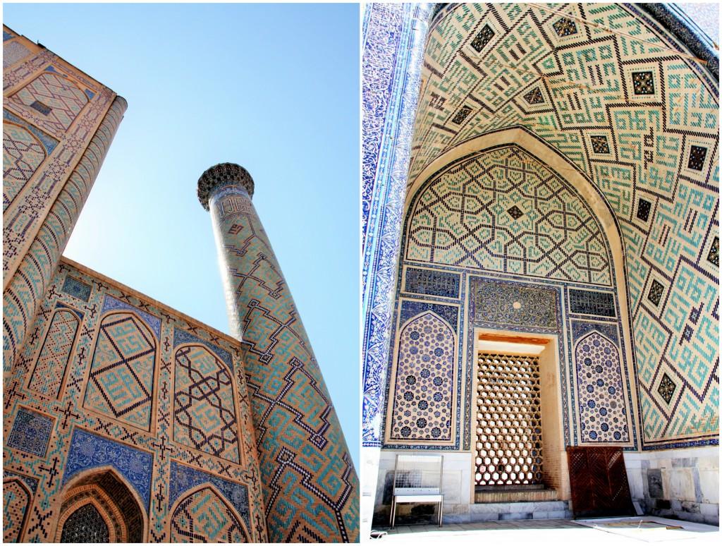 Collage Registan - Samarkand - Usbekistan - 4