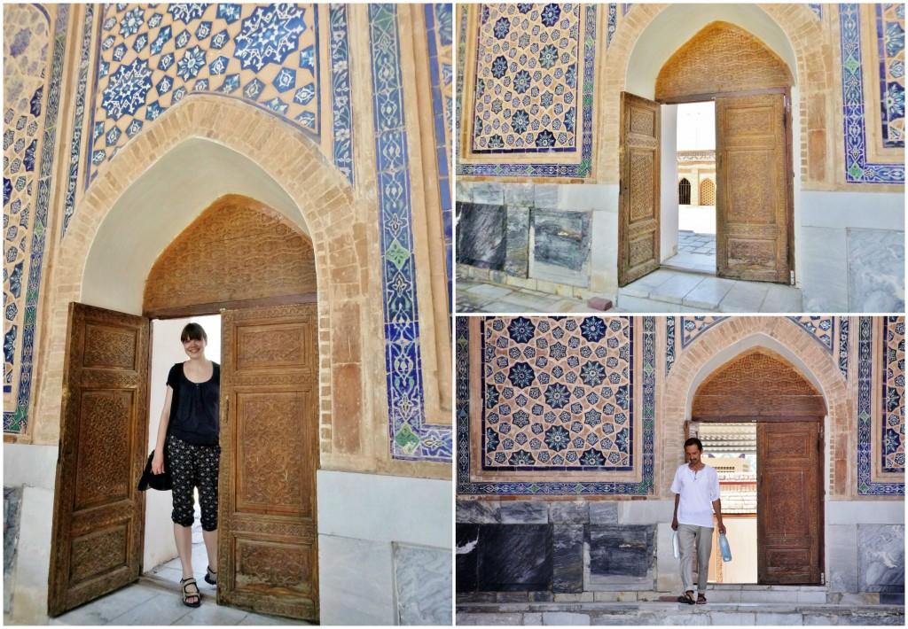 Collage Registan - Samarkand - Usbekistan - 5