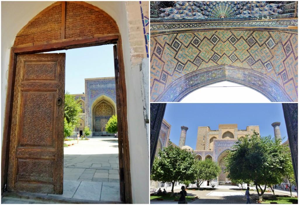 Collage Registan - Samarkand - Usbekistan - 6