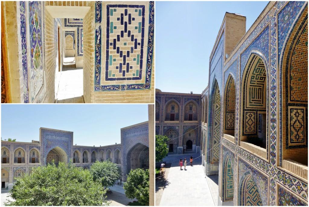 Collage Registan - Samarkand - Usbekistan - 7