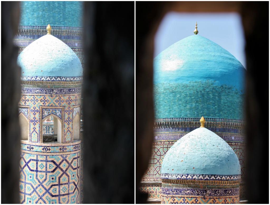 Collage Registan - Samarkand - Usbekistan - 8