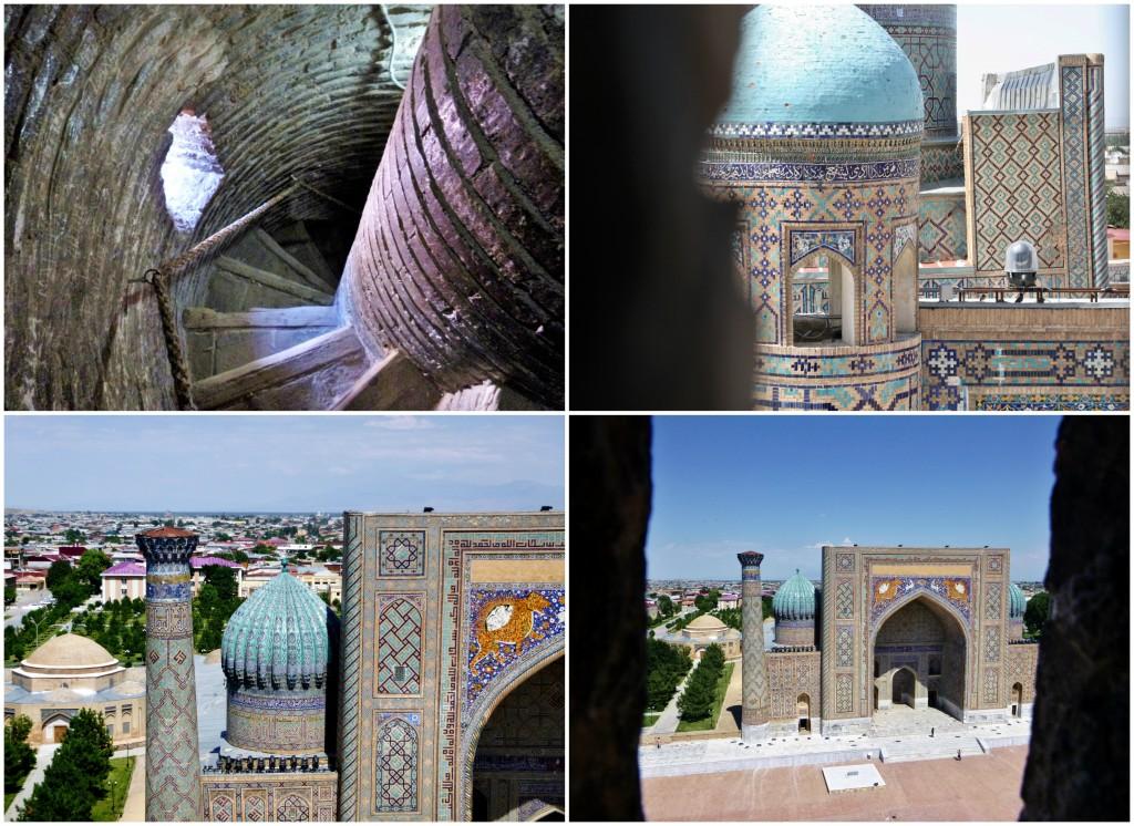 Collage Registan - Samarkand - Usbekistan - 9