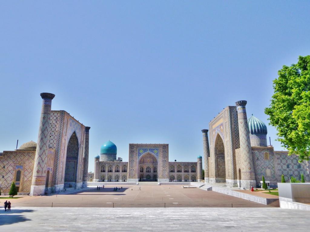 Registan - Samarkand - Usbekistan - P1160005 – Kopi