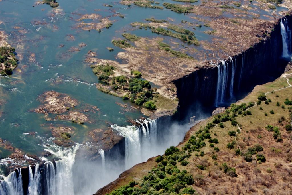 Zambia Zimbabwe Victoriafallene 36-kopi