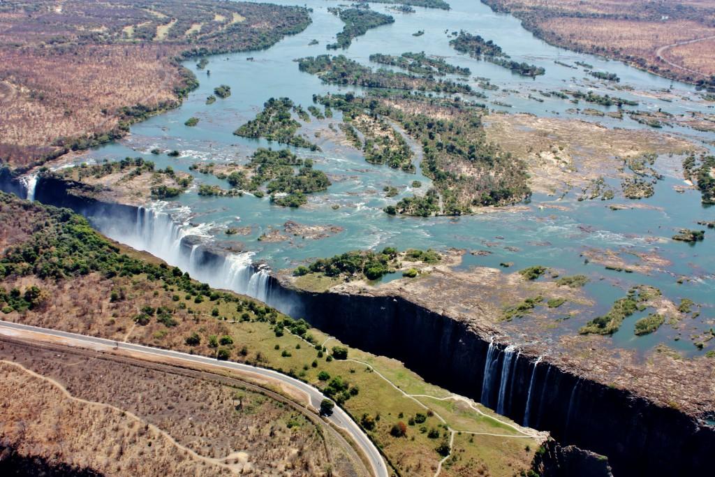Zambia Zimbabwe Victoriafallene 43-kopi