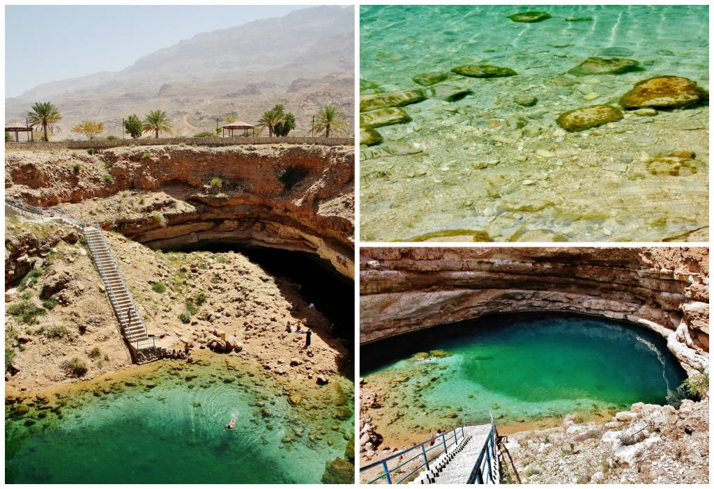 Collage Bimmah Sinkhole 1
