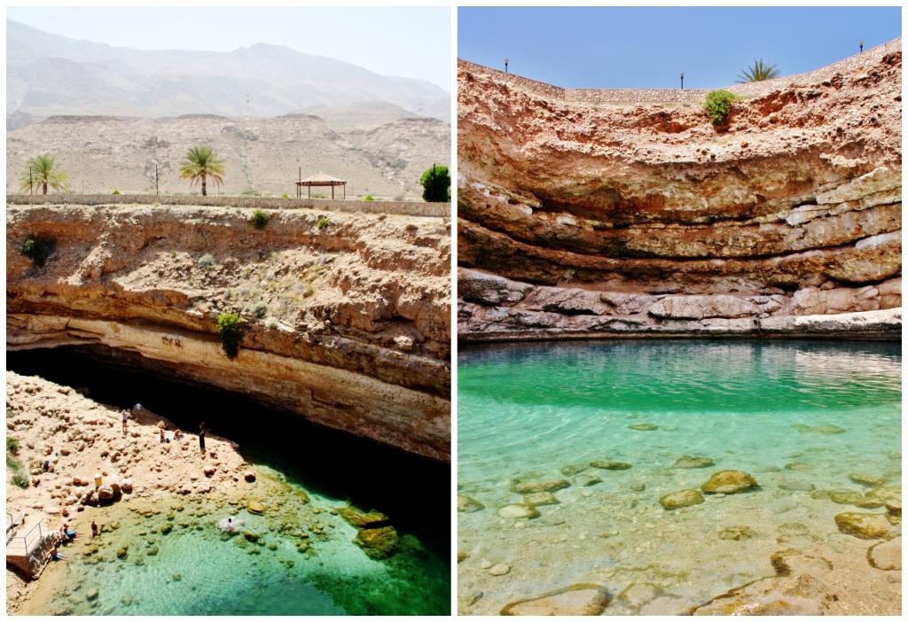Collage Bimmah Sinkhole 2