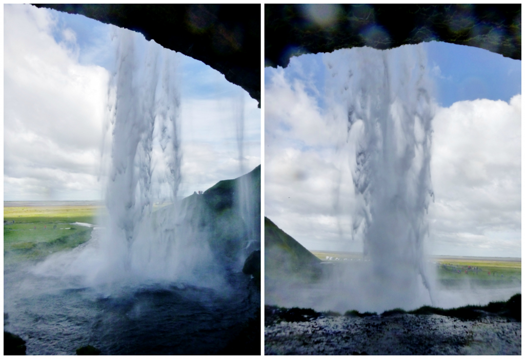 Collage Seljalandsfoss 2