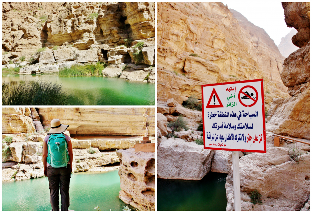 Collage Wadi Shab 1