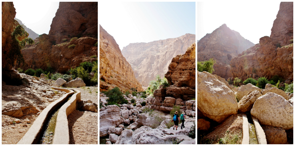 Collage Wadi Shab 4