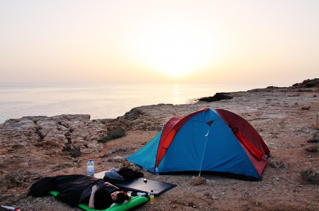 IMG_0972 – Kopi - Oman - telt ved havet