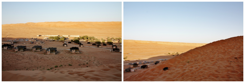 Oman - Wahiba Sands - Collage ørken 2