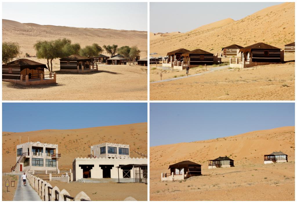 Oman - Wahiba Sands - Collage ørkencamp 1