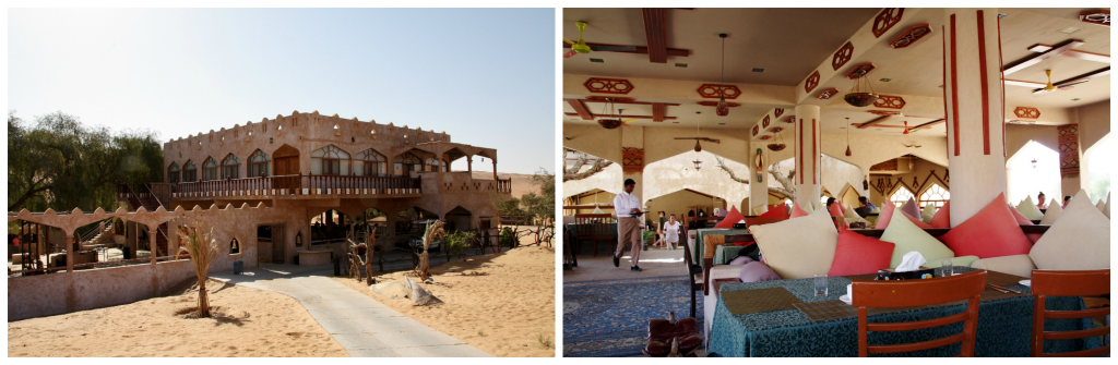 Oman - Wahiba Sands - Collage ørkencamp 2