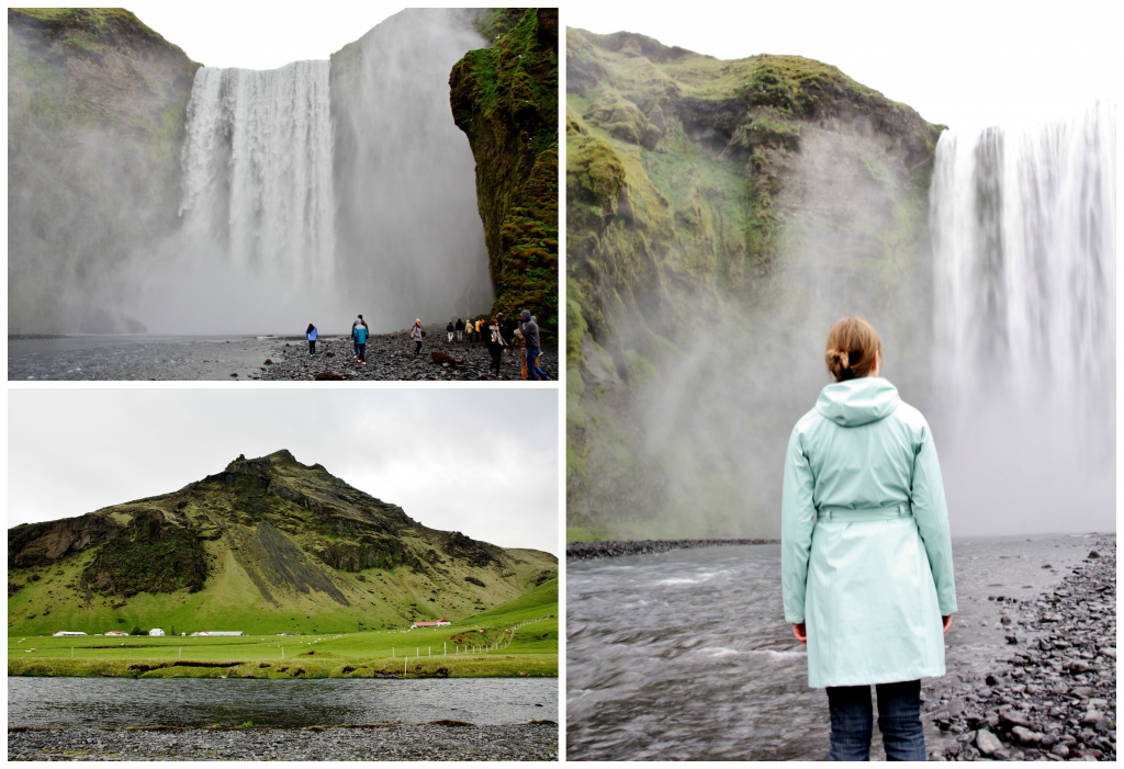Collage Skógafoss