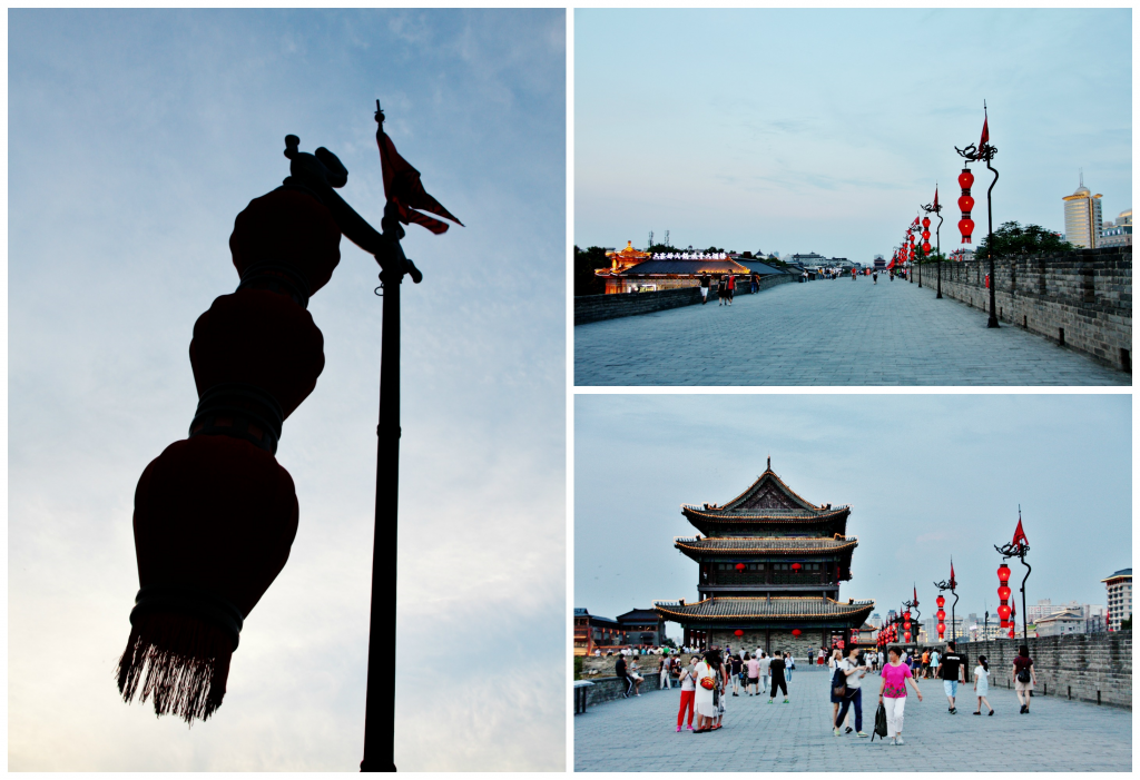 Collage bymuren i XI'an 1