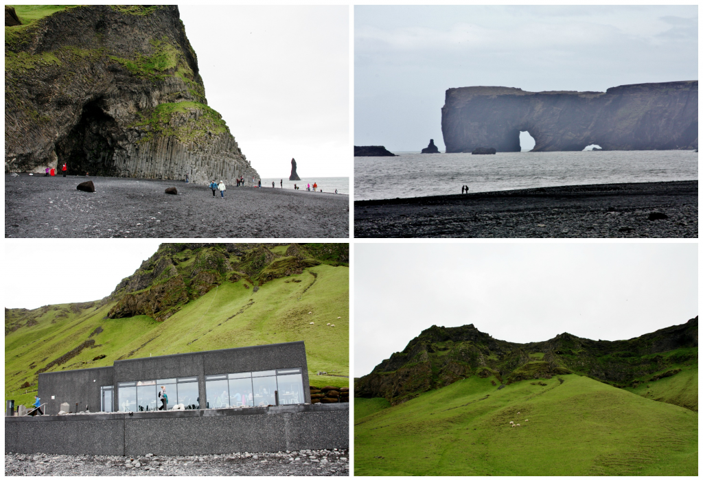 Island - Collage Reynisfjara 1
