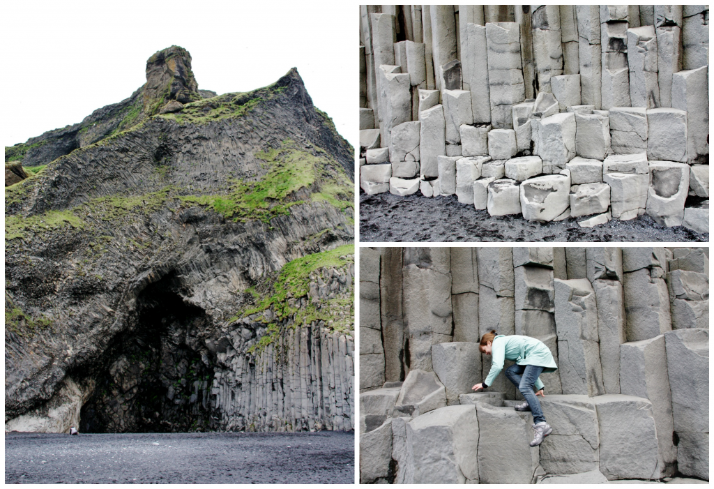Island - Collage Reynisfjara 2
