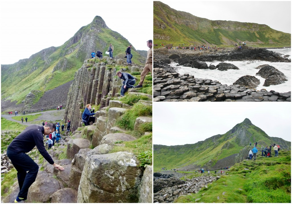 Collage Giant's Causeway 2