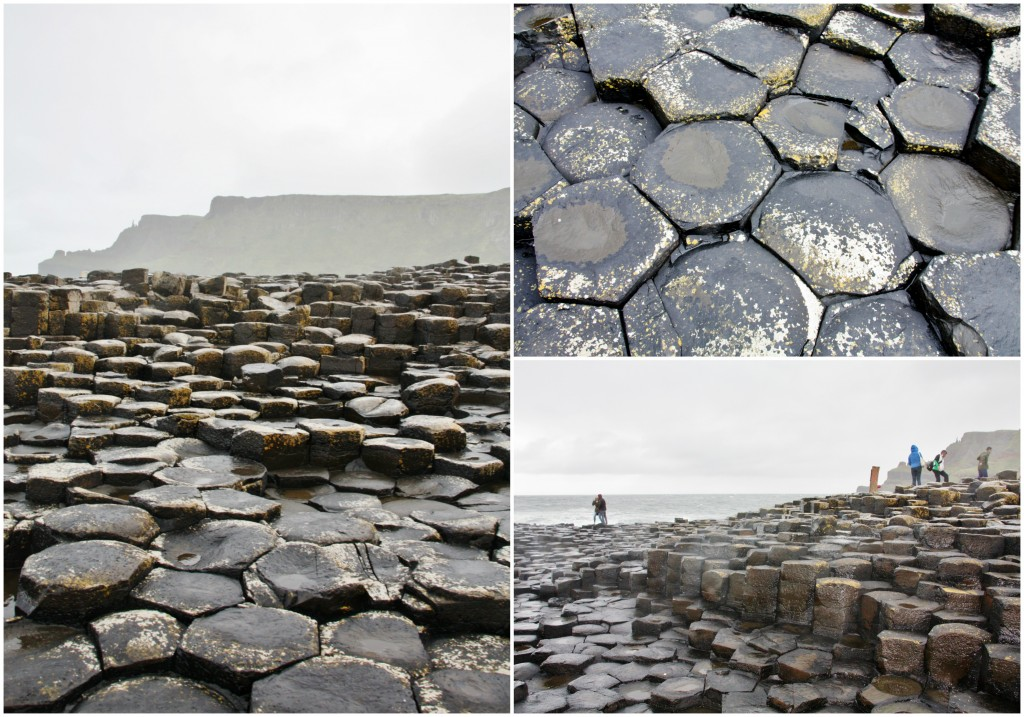 Collage Giant's Causeway 4