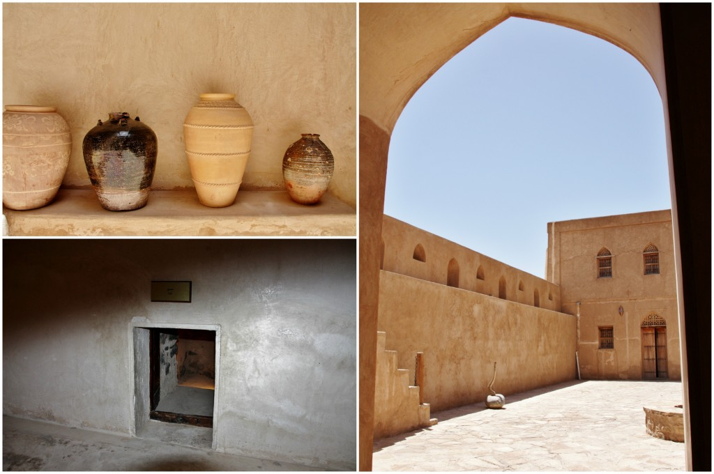 Collage Jabreen Fort 1